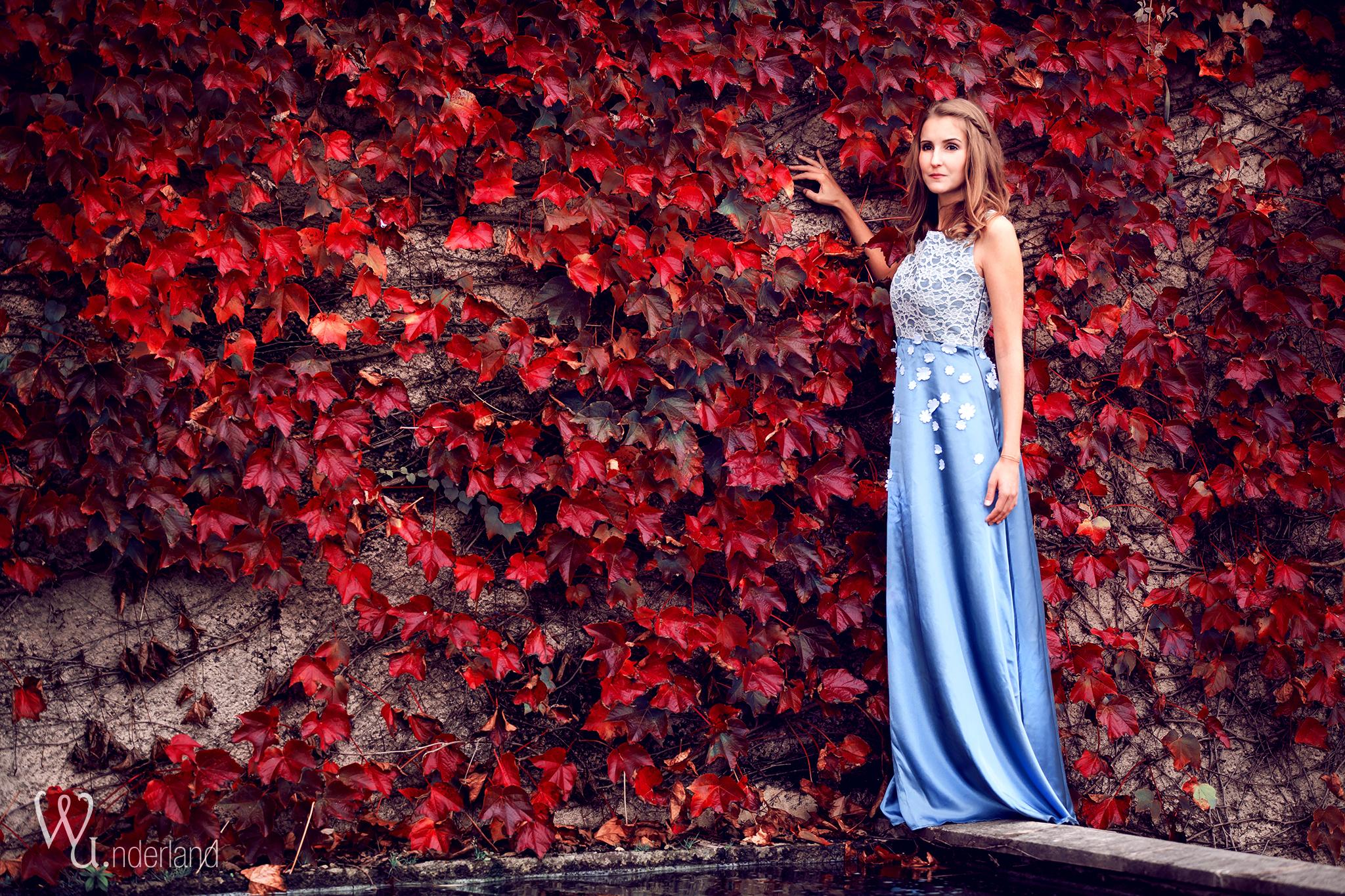 vada _ brautkleid, gr 36, abendkleid, spitze, blau, grau