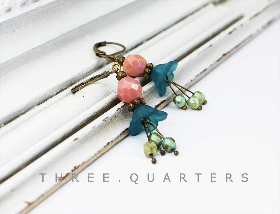 Three-Quarters - Earrings dd292d263d24a