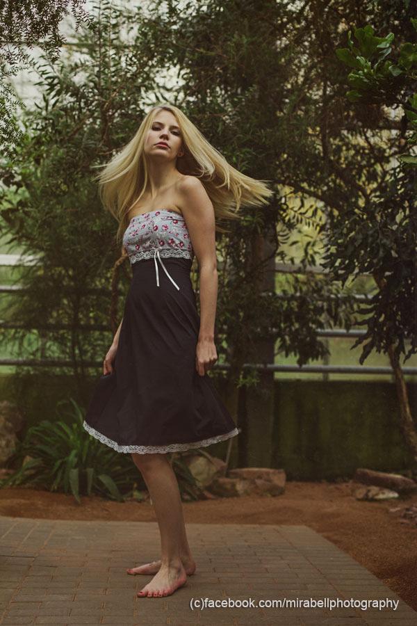 ThreeQuarters - Kleid, Sommerkleid, Spitze, dunkelblau ...